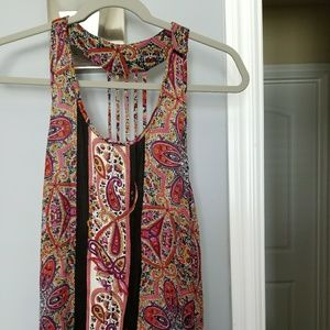 PERFECT CONDITION BOHO LOWER BACK TANK